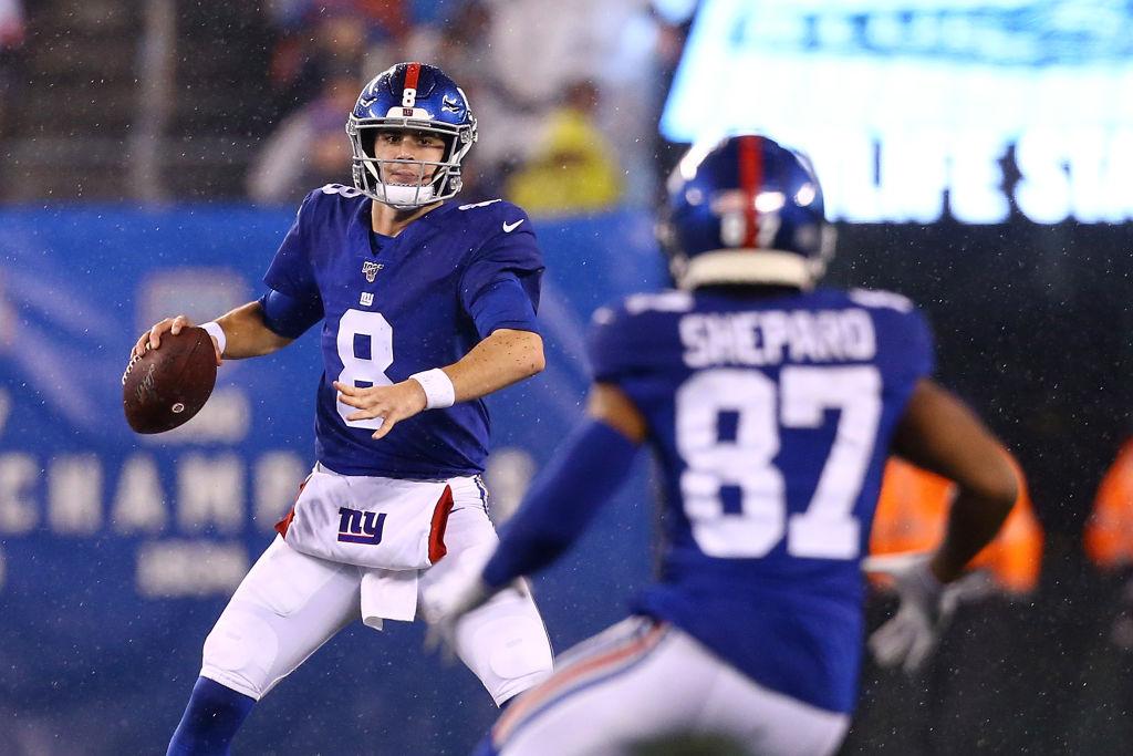 New York Giants quarterback Daniel Jones threw 24 touchdowns as a rookie in 2019.