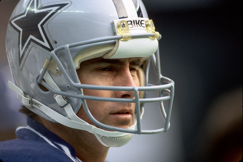 Dallas Cowboys quarterback Danny White