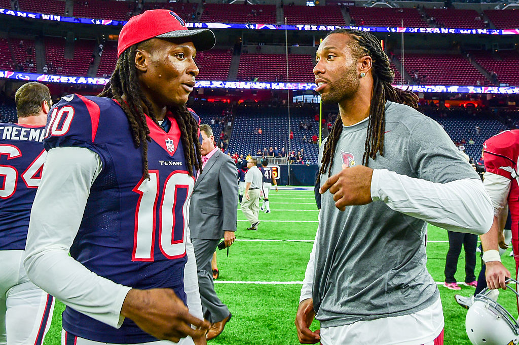 Is DeAndre Hopkins the Best Wide Receiver Larry Fitzgerald Has ...