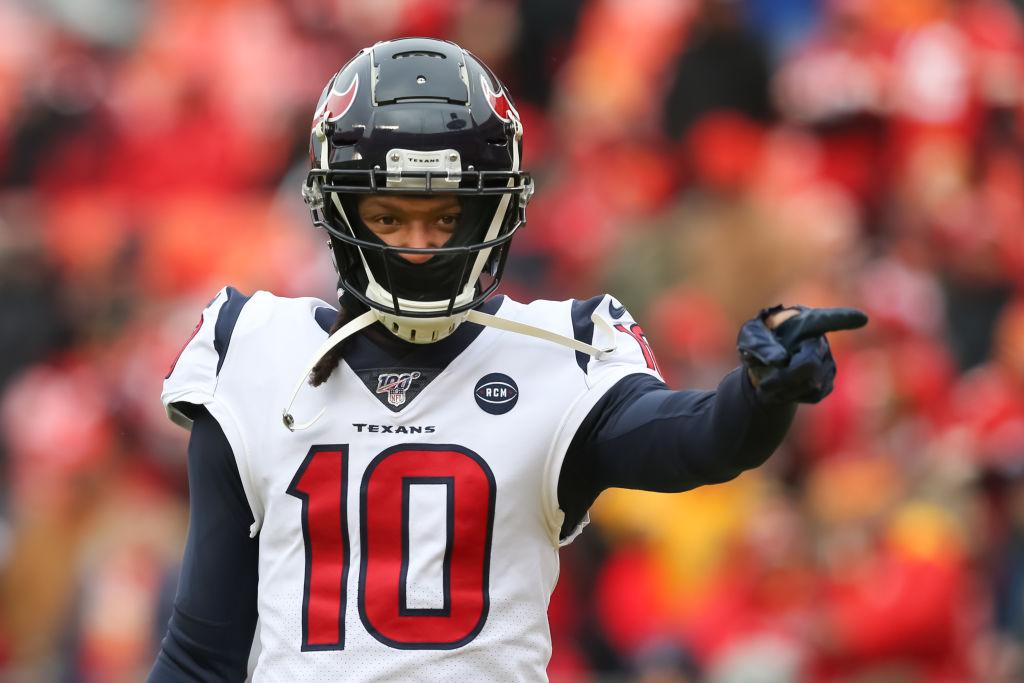 The Houston Texans traded DeAndre Hopkins to the Arizona Cardinals.