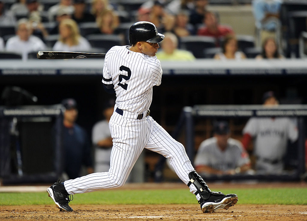 While we all know Derek Jeter as a New York Yankee, he could have been drafted by the Houston Astros.