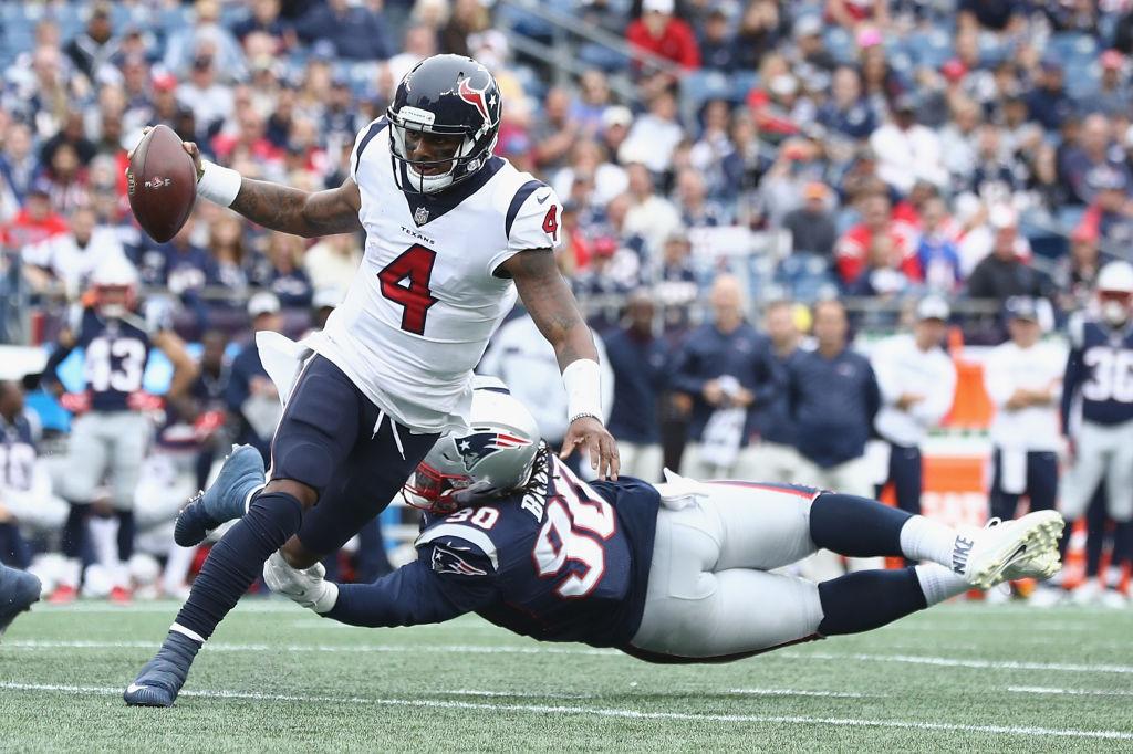 Deshaun Watson would be a major upgrade at quarterback for the Patriots.