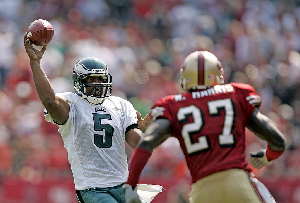 Donovan McNabb has the most wins by a quarterback in Philadelphia Eagles franchise history.