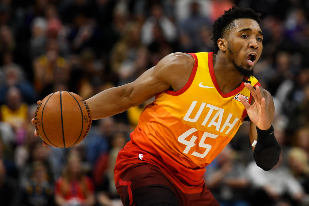 Utah Jazz star Donovan Mitchell tested positive for the coronavirus