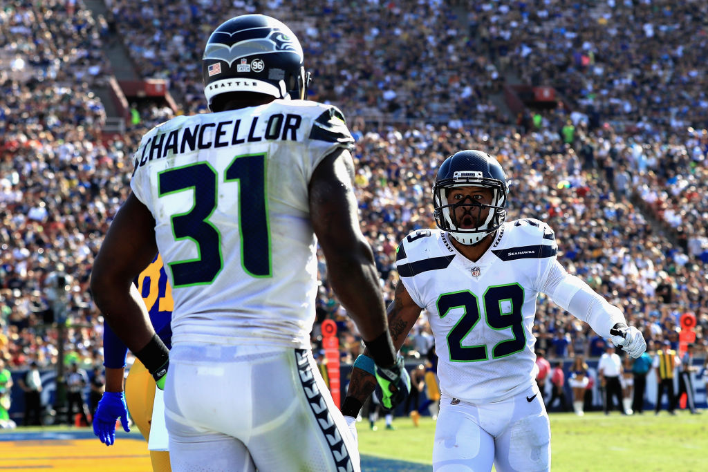 Kam Chancellor and Earl Thomas