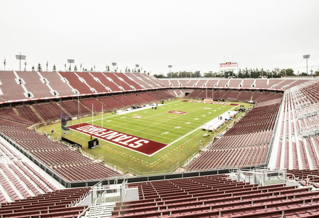 Empty Stanford Stadium