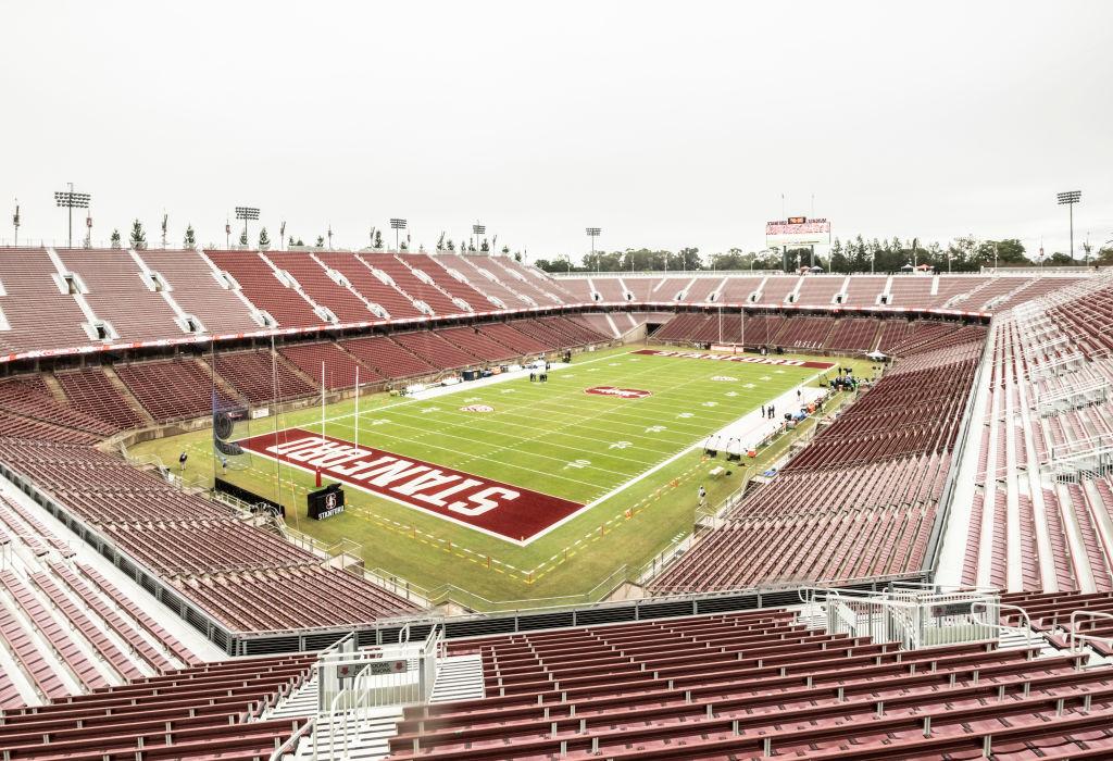 Empty Stanford Stadium