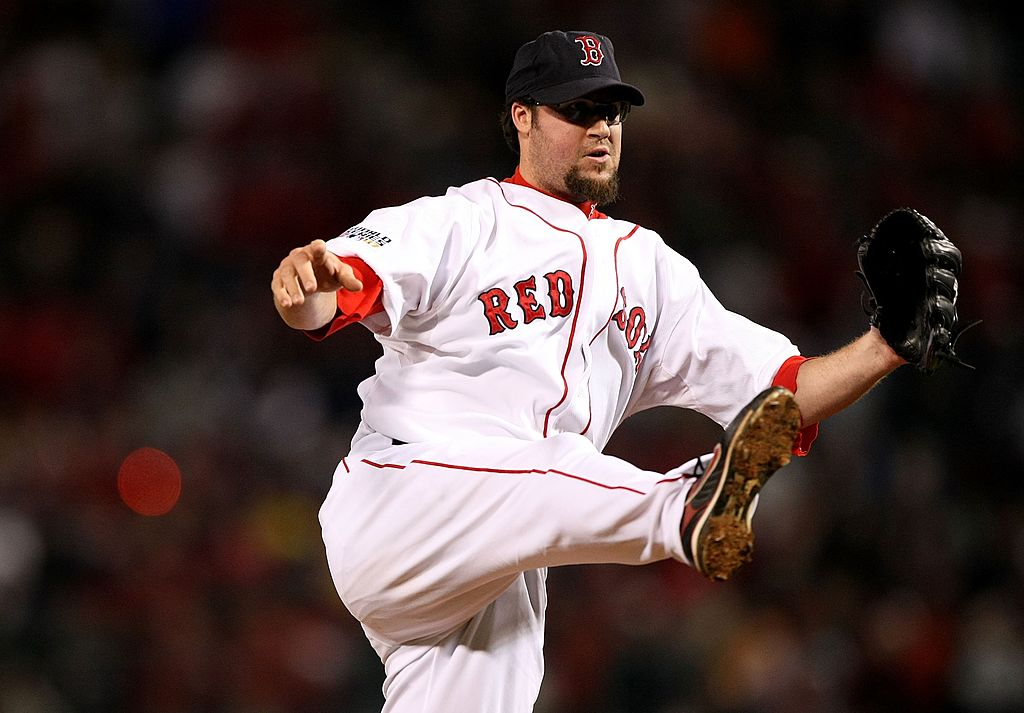 Eric Gagne was an All-Star reliever with the Los Angeles Dodgers. He didn't pitch to that level with the Boston Red Sox, though.