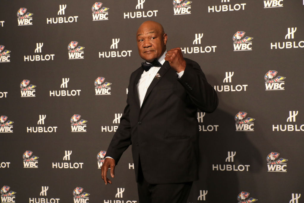 "George Foreman attends the 2109 ""Night of Champions"" Gala in Las Vegas"