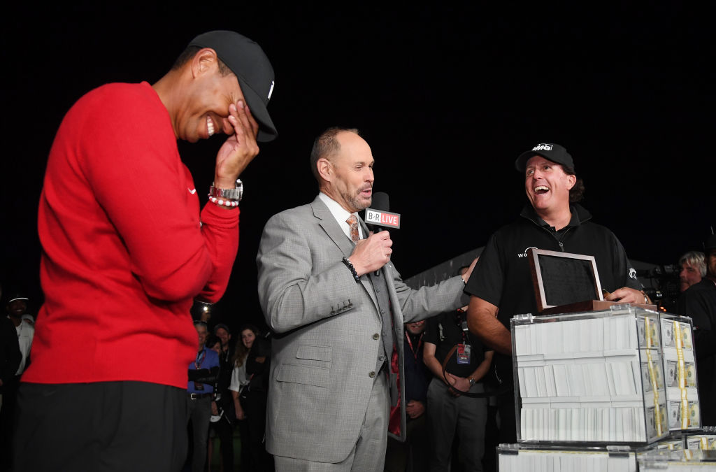 Phil Mickelson took to Twitter yesterday to tease a rematch with Tiger Woods. Could it be happening soon?