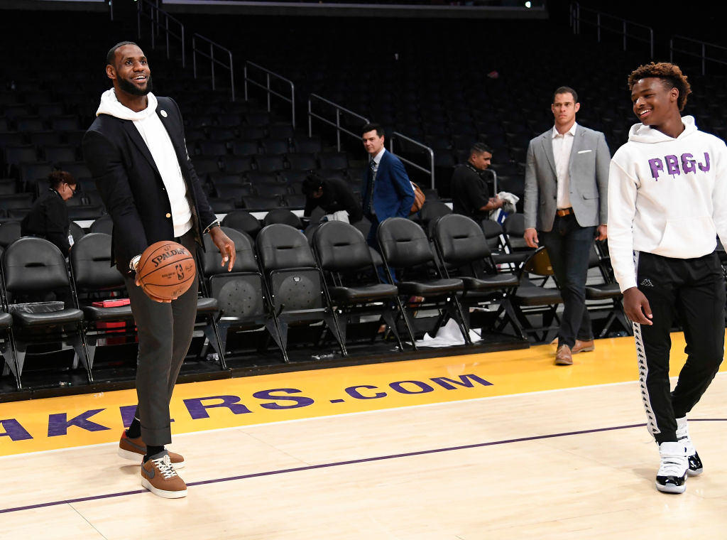 Professional sports are on lockdown for the next few weeks, but that isn't stopping LeBron James and other athletes from entertaining their fans.