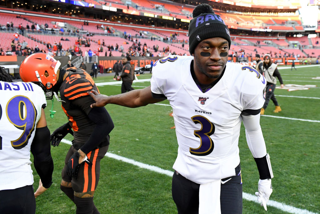 Robert Griffin III is a surprise name popping up in trade rumors lately. Would the Ravens let him go and which teams should make an offer?