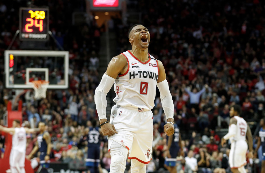Russell Westbrook has the small-ball Rockets playing like championship contenders