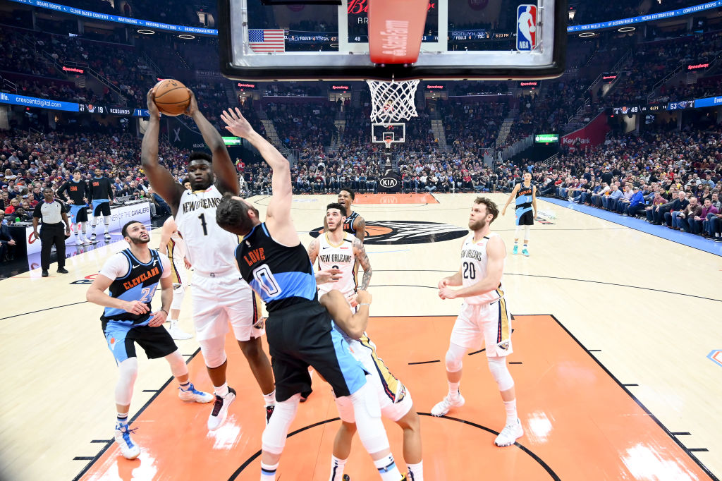 Zion Williamson is a fan favorite for his incredible dunks, but he's already become one of the NBA's best rebounders at 19