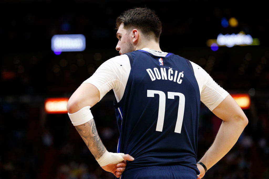The number a professional athlete chooses usually has a deeper meaning. Why does Luka Doncic wear 77 and where did it come from?