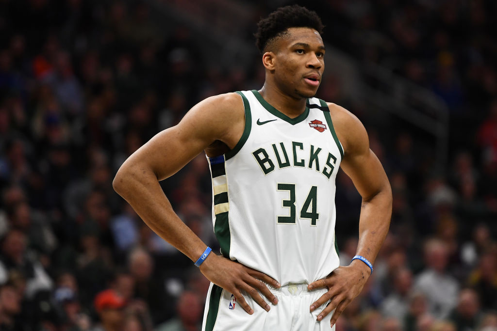 Giannis Antetokounmpo doesn't want to stop playing basketball anytime soon.