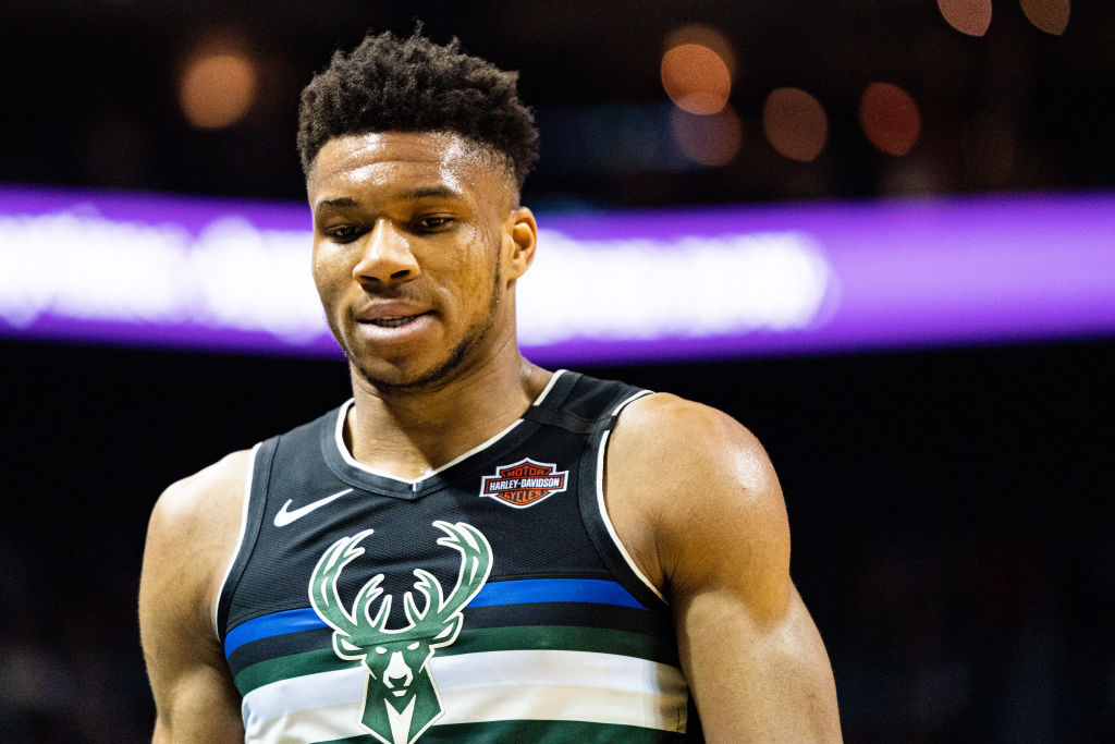 Bucks forward Giannis Antetokohmpo
