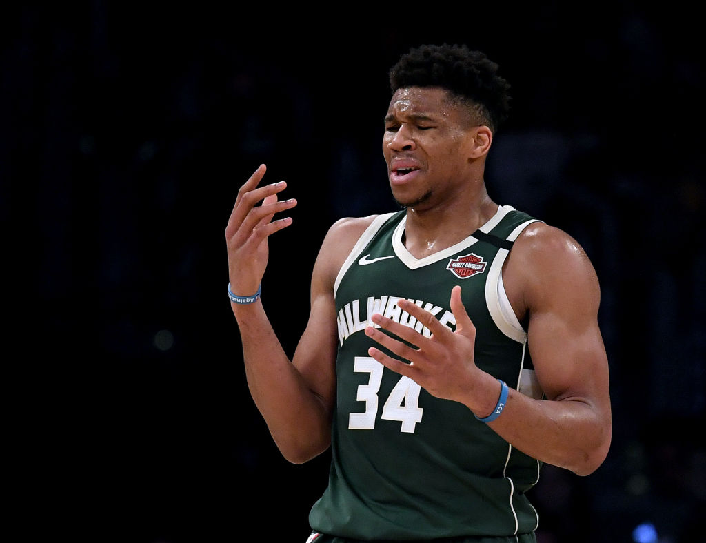 After suffering a knee injury, Giannis Antetokounmpo was afraid that something was seriously wrong.