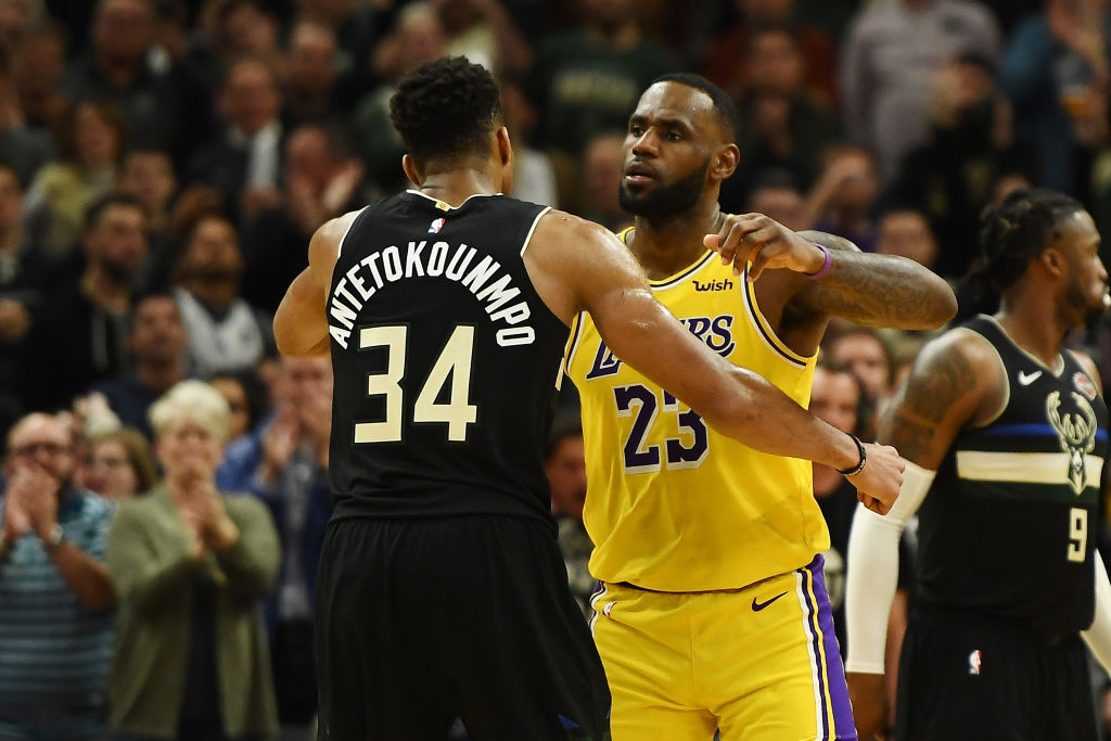 Giannis Antetokounmpo wants to emulate LeBron James in one specific way.