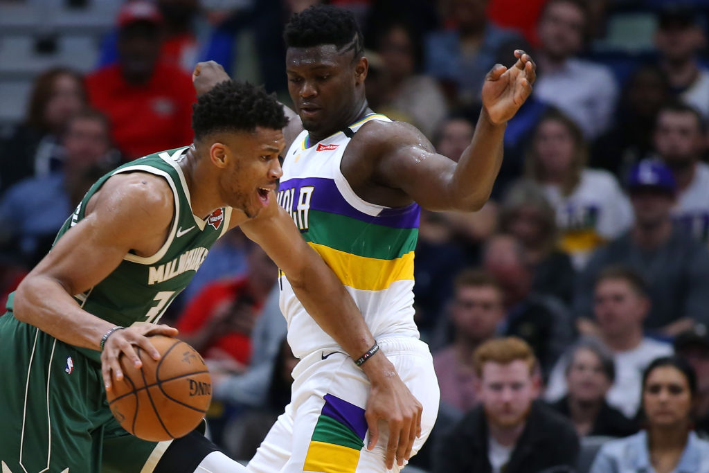 Giannis Antetokounmpo and Zion Williamson are rewriting the NBA history books.
