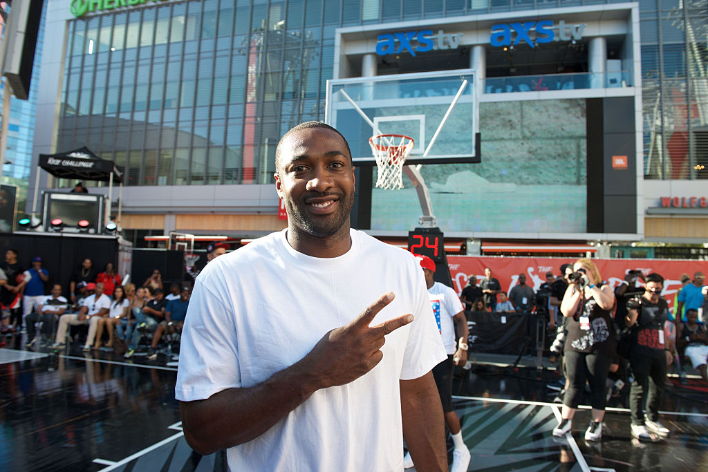 Former NBA point guard Gilbert Arenas