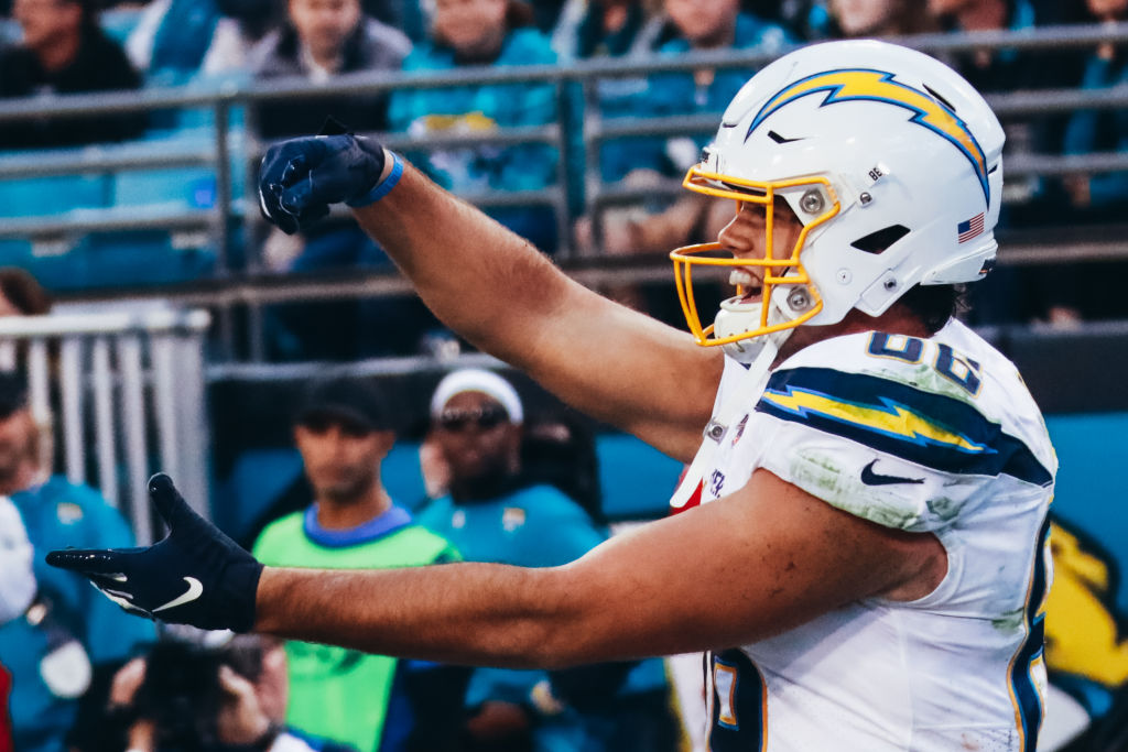 The Los Angeles Chargers franchise tagged star tight end Hunter Henry before free agency opened.