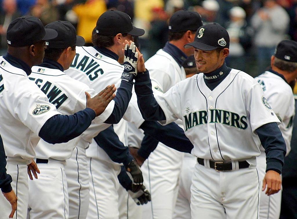 Seattle Mariners outfielder Ichrio Suzuki made his MLB debut on April 2, 2001, after a historic career in Japan. Suzuki ended his career in 2019 as the sport's all-time hit leader.