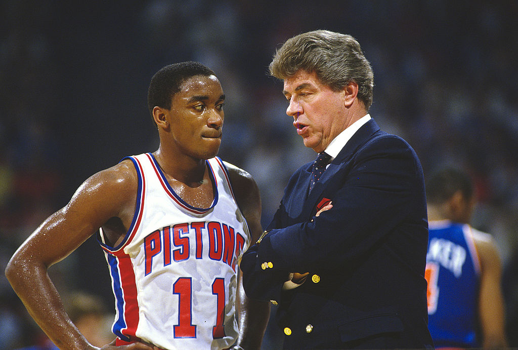 Isiah Thomas was disappointed when he didn't make the dream team, but he now sees a silver lining.