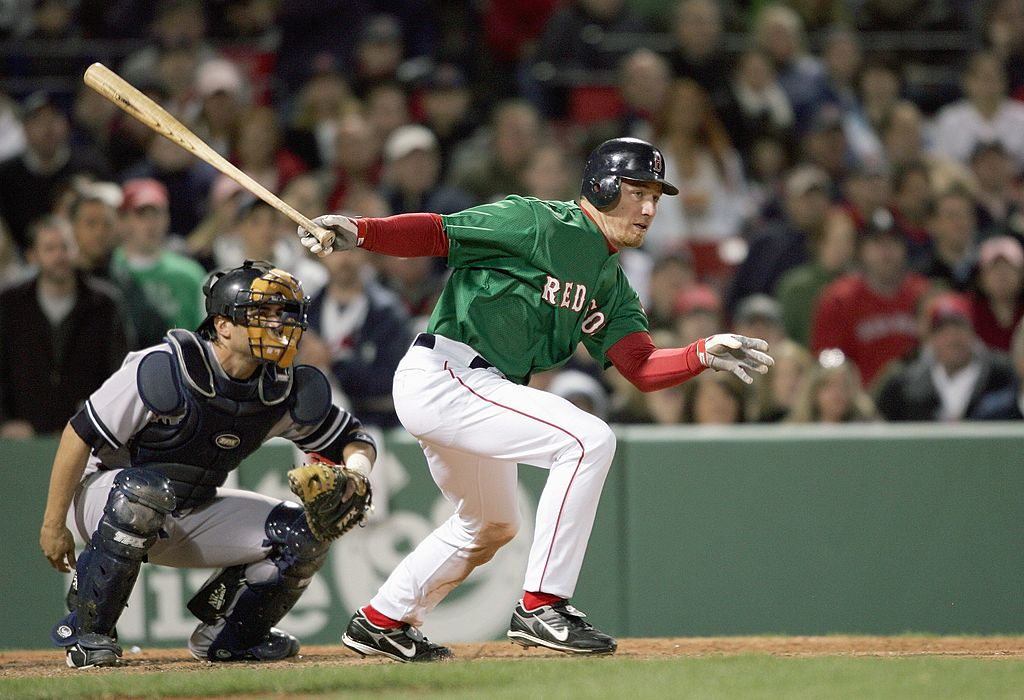 The Boston Red Sox wore their St. Patrick's Day green uniforms in an April 2007 victory over the New York Yankees.
