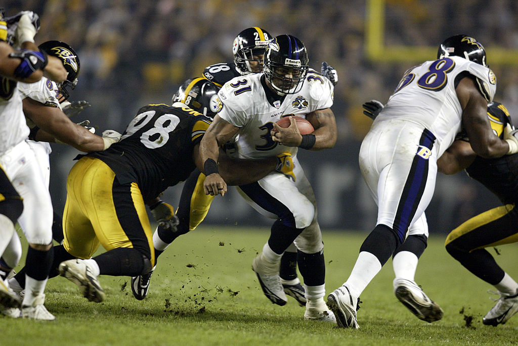 Former Baltimore Ravens running back Jamal Lewis was a dangerous weapon in the Madden NFL games.