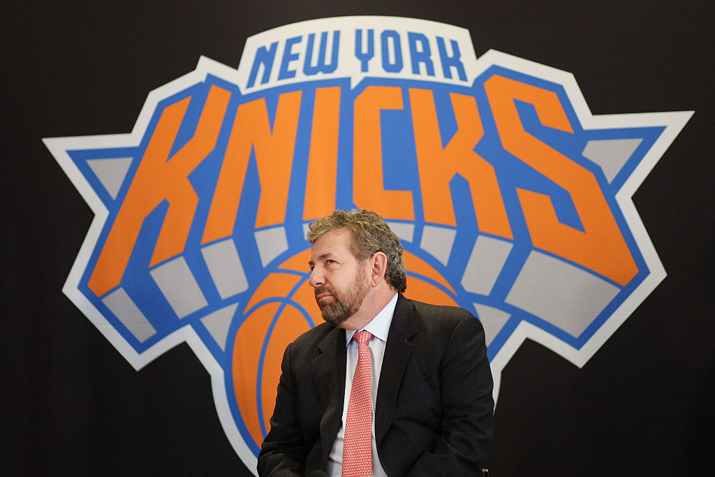 James Dolan is the New York Knicks owner, but should he sell the team?