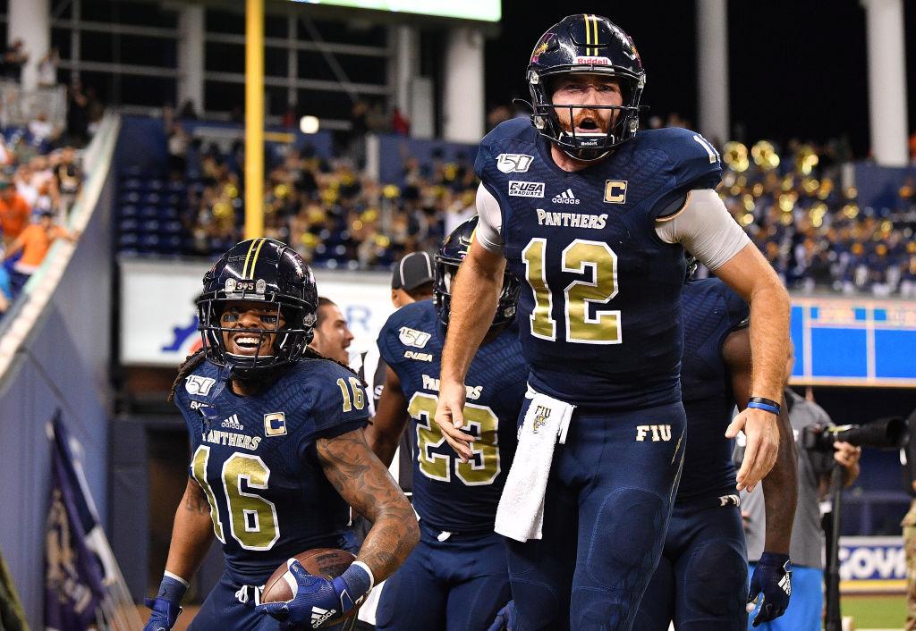 Florida International quarterback James Morgan is climbing NFL Draft boards. Will Morgan replace Aaron Rodgers in Green Bay?