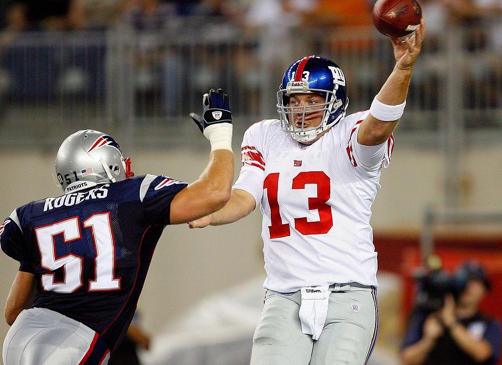 Jared Lorenzen of the New York Giants
