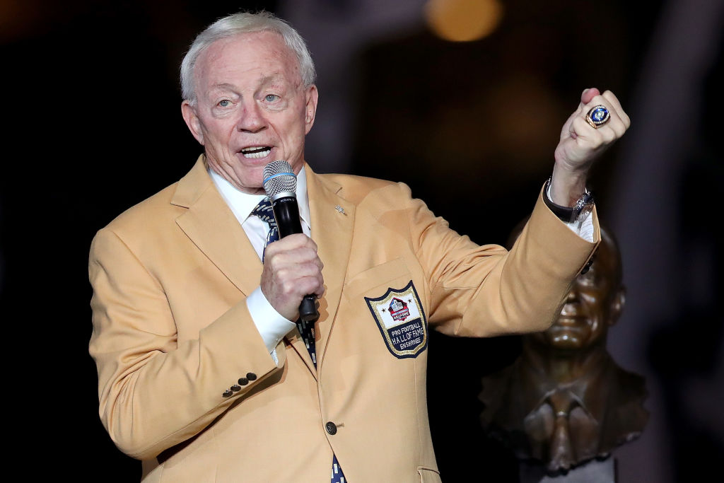 Jerry Jones requested that the Dallas Cowboys play in this year's Hall of Fame Game.