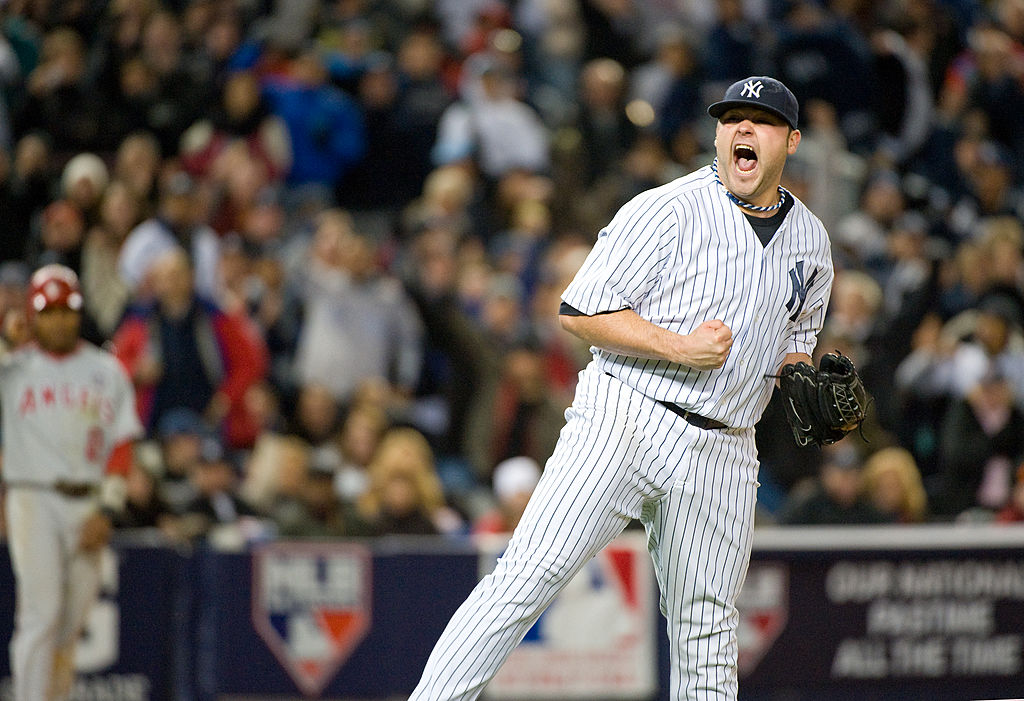 New York Yankees pitcher Joba Chamberlain was loved by fans and criticized by opponents for his trademark fist pumps.
