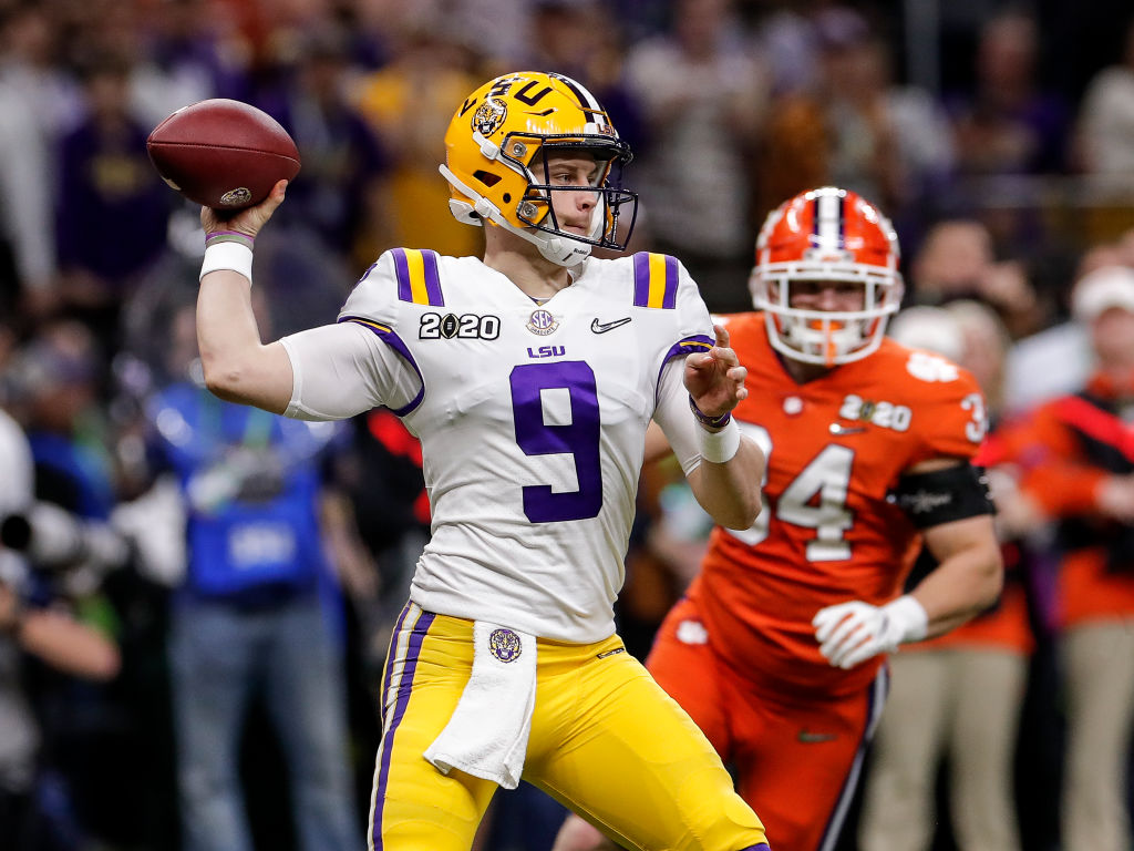Joe Burrow will be the first pick in the NFL Draft, but the Dolphins could trade up to land the star quarterback.