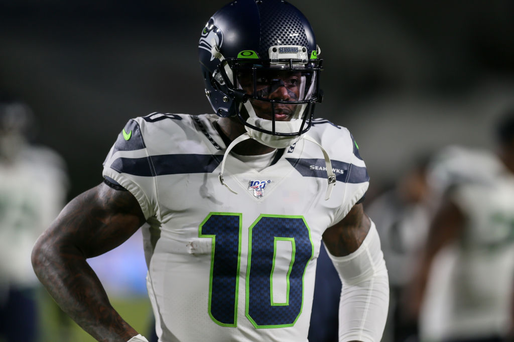 Seahawks wide reciever Josh Gordon