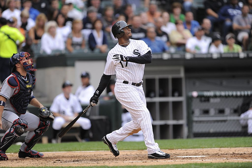 MLB Hall of Famer Ken Griffey Jr. closed the 2008 season with the Chicago White Sox.