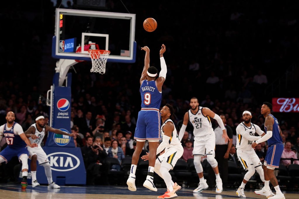 Spike Lee and the New York Knicks hope RJ Barrett can live up to their collective expectations.