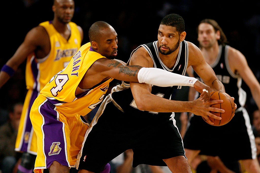 Were Kobe Bryant and Tim Duncan on the Same Level?