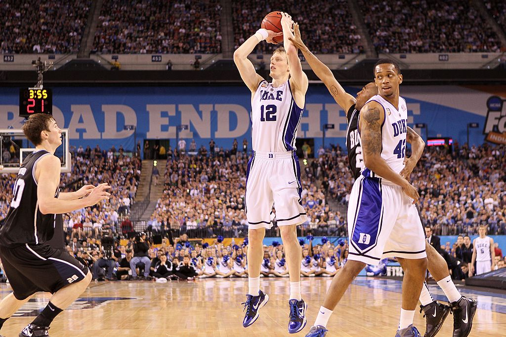Kyle Singler of the Duke Blue Devils