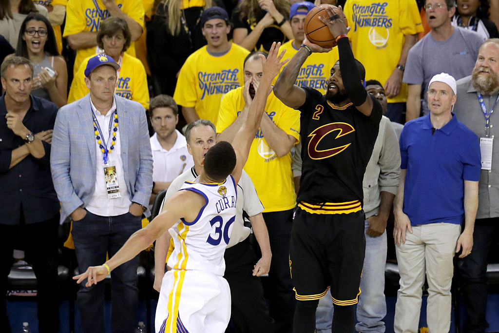 Kyrie Irving Has LeBron James to Thank for 'The Shot' in 2016 NBA Finals