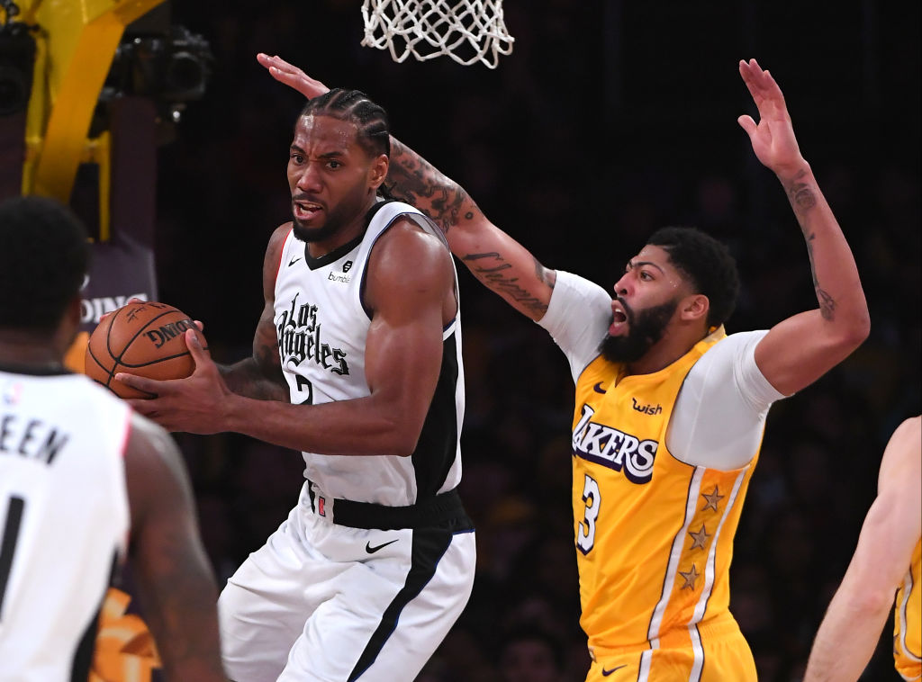 The Los Angeles Lakers are planning to slow down Kawhi Leonard and his Clippers on Sunday afternoon.