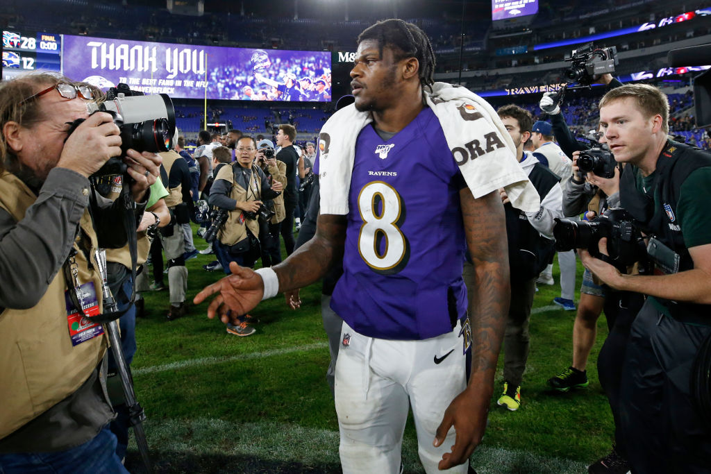 Baltimore Ravens quarterback Lamar Jackson is looking to avoid another playoff upset in 2020.