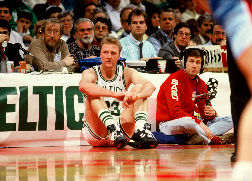 Larry Bird was an elite basketball player, but he didn't have the best diet.
