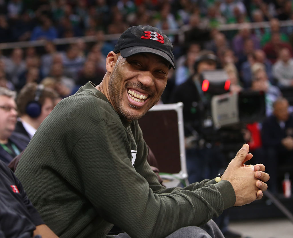 Lavar Ball at Turkish Airlines EuroLeague
