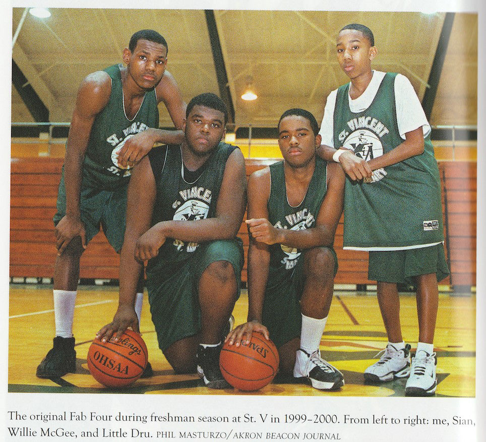 LeBron James and his 'Fab Five' teammates