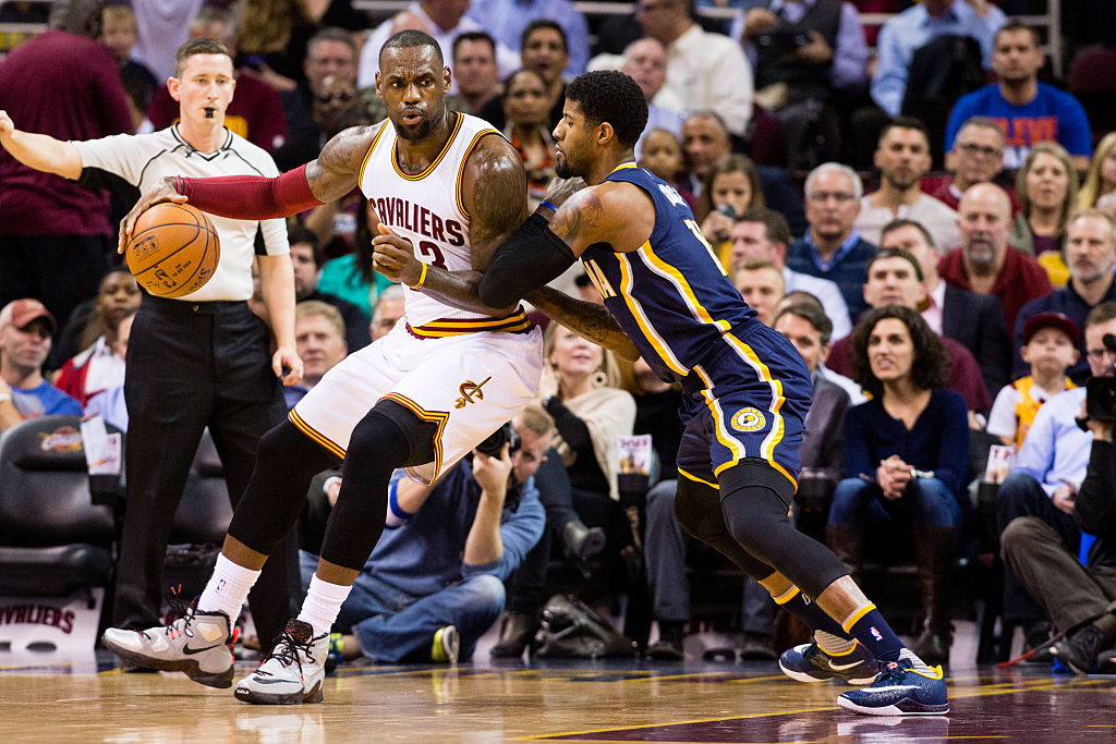 LeBron James on Cavaliers, Paul George on Pacers