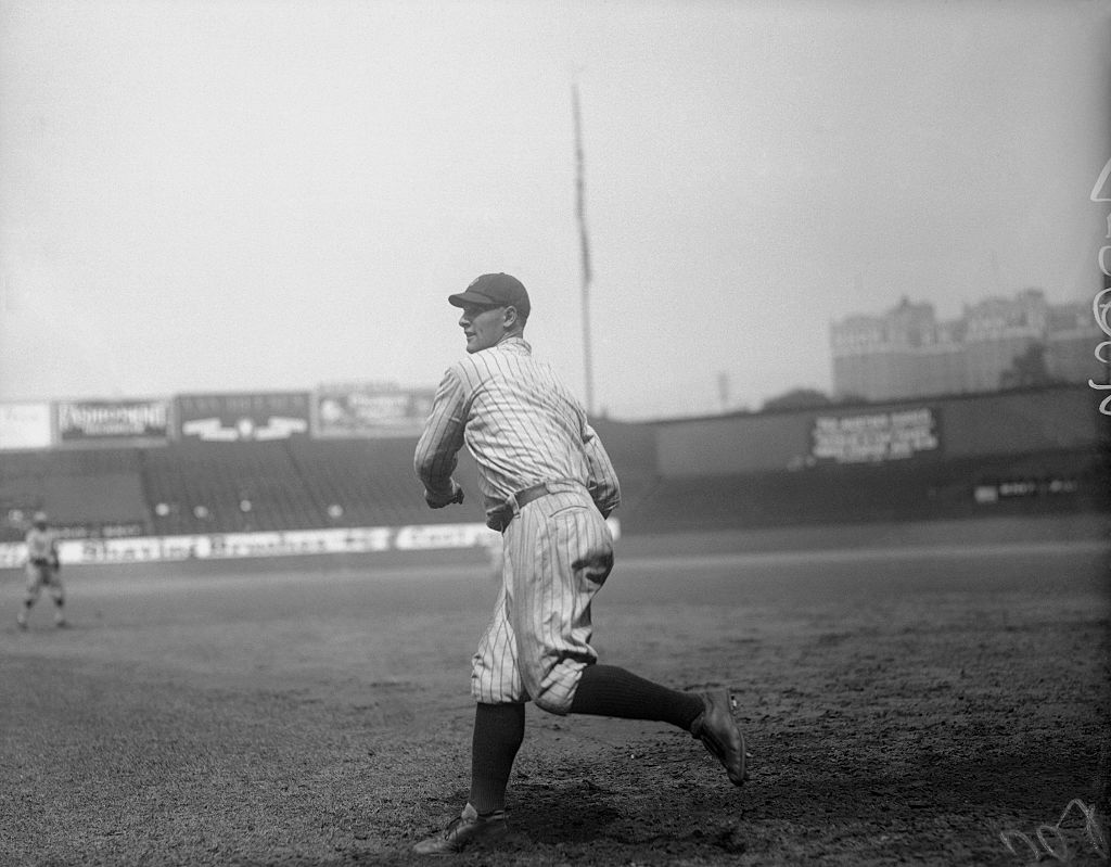 Baseball player Lou Gehrig in 1900