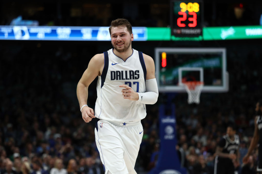 Mavericks forward Luka Doncic